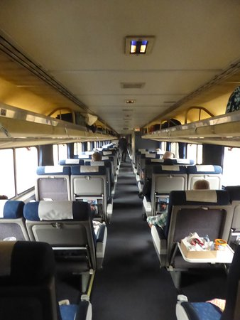 California Zephyr: coach car