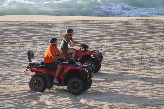 G-Force Adventures: Riding on the beach with a friend! Awesome!