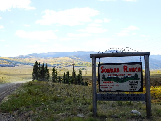 Creede, CO: Ranch and grounds