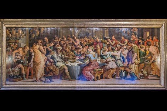 Arezzo, إيطاليا: Giorgio Vasari - nozze di Ester e Assuero (tavola di metri 8 per3)