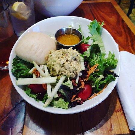 Brevard, NC: Curry chicken salad!