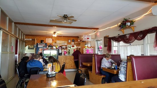 Bell Island, Canada: Restaurant side