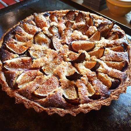 Pottstown, PA: Fig Tarte with Almonds