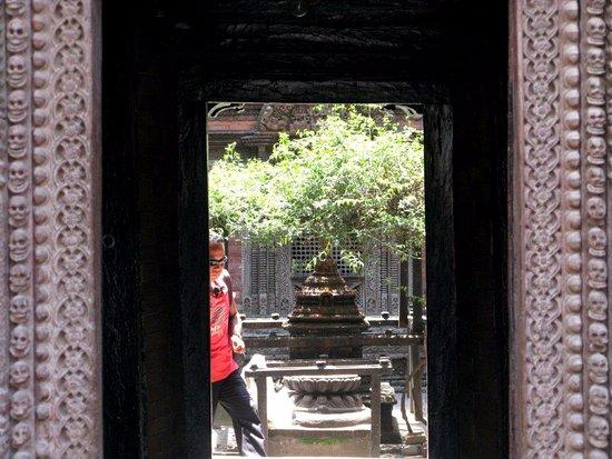 Kumari Chowk: Ingresso al Palazzo della Kumari