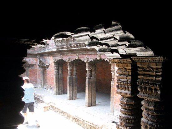 Kumari Chowk: Cortile interno al palazzo