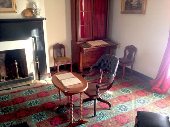 Appomattox, Вирджиния: The room in the farmhouse where it all ended.