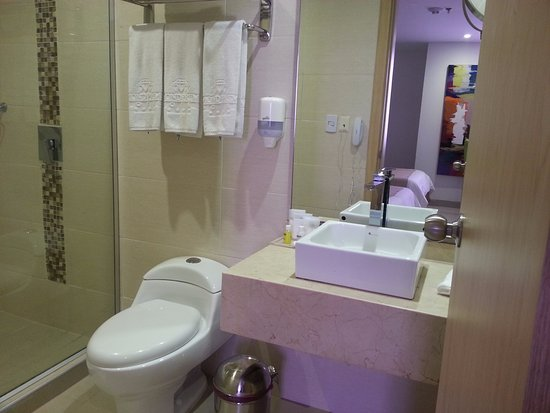 Park inn by Radisson Diamond Barranquilla : Bathroom