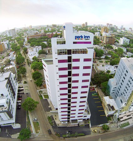 Park inn by Radisson Diamond Barranquilla : Hotel Front