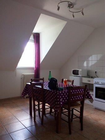 Beauvoir, France : cuisine