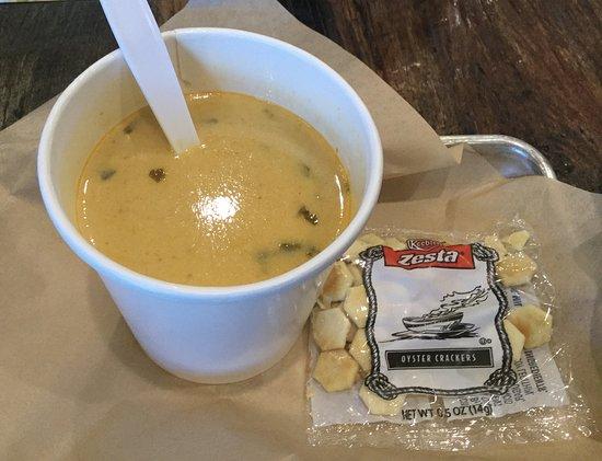 Aliso Viejo, CA: Lemongrass Soup