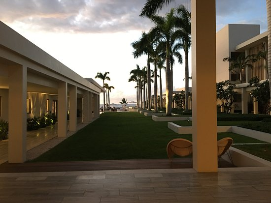 West End Village, Anguilla: Main lobby looking toward water