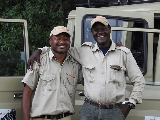 Safaris-R-Us: Walter and Ed.
