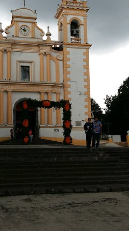 Xico, المكسيك: excelente vista de la iglesia en xico