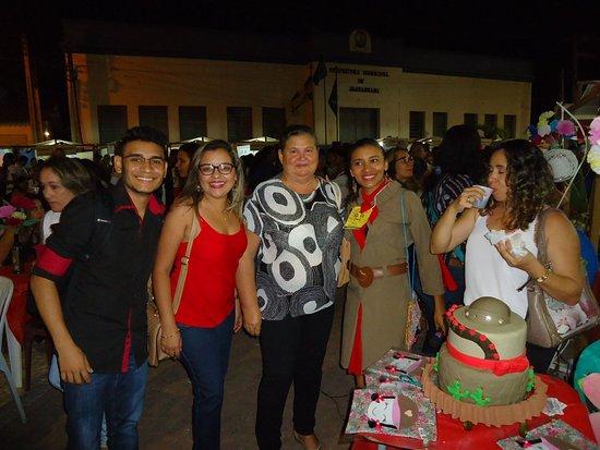 na praça de Jaguaruana