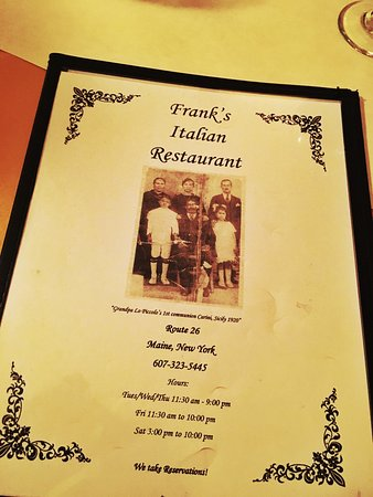 Franks Pizzeria and Italian Restaurant: photo1.jpg