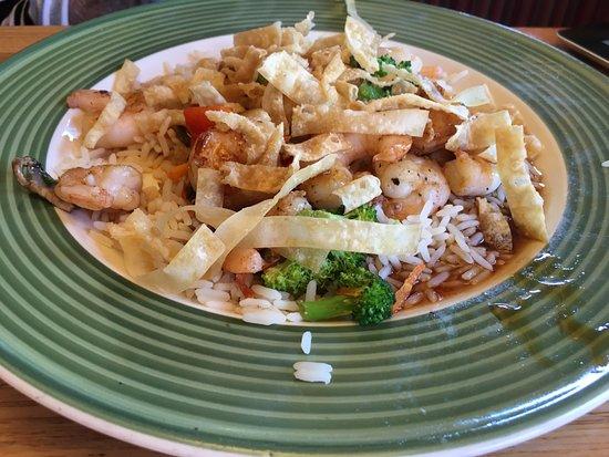 Applebee's: Wonton Shrimp Stir Fry