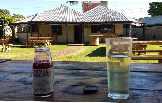Caversham, Australia: View from the beer garden