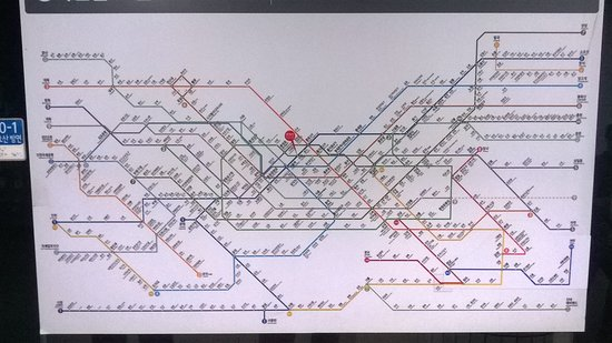 Subway map for Seoul Picture of Seoul Metro Seoul TripAdvisor