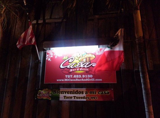 Redington Shores, FL: Mi Casa Bar & Mexican Restaurant