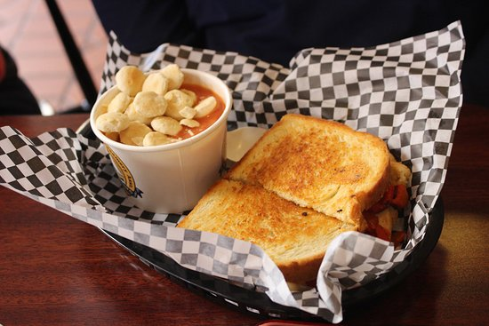 Tillamook, OR: Turkey Pesto Grilled Cheese with Soup