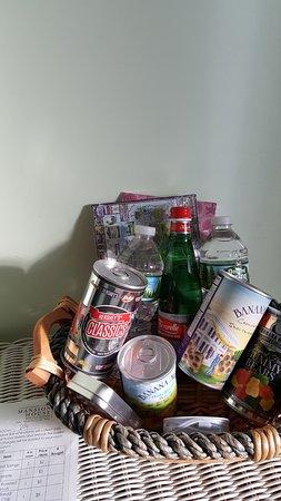 Vineyard Haven, ماساتشوستس: in-room offerings