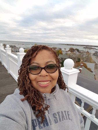 Vineyard Haven, ماساتشوستس: View from rooftop deck