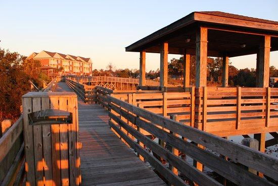 Swansboro, Carolina del Norte: sunrise filters