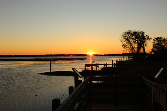 Swansboro, NC: was able to capture the sun rising