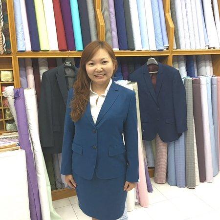 Bophut, Tayland: Cashmere wool suit
