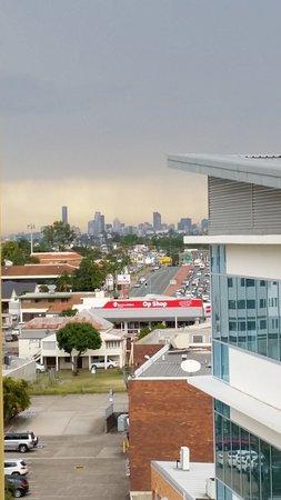 Chermside, Australia: View towards Brisbane CBD
