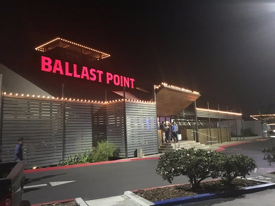 Ballast Point Brewing View Of The Front Entrance