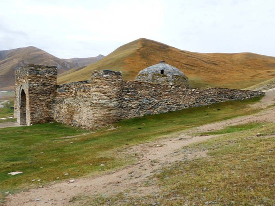 Naryn Province, Kyrgyzstan: Seitenansicht