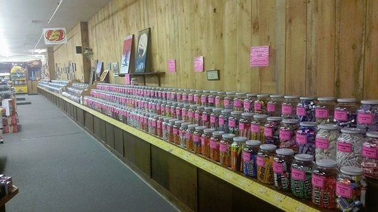 Littleton, NH: The longest candy counter in the world
