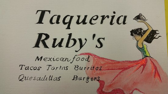 Oroville, WA: Ruby's Quick Stop Mexican Food