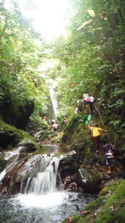 San Lorenzo Ruiz, Filippinene: Falls