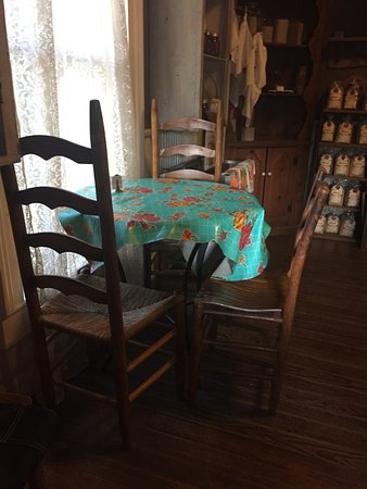 Mosswood Farm Store: table