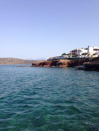 Plaka, Grecia: Beautiful view from the restaurant