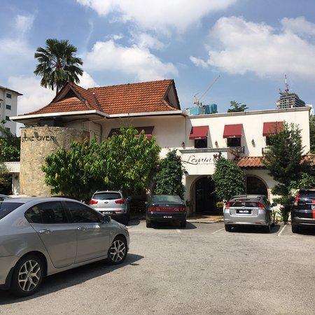 Levain Boulangerie: The front entrance of Levain, Kuala Lumpur