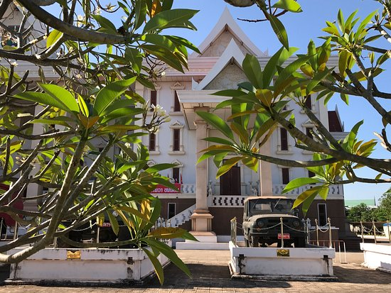 People's Security Museum in Vientiane
