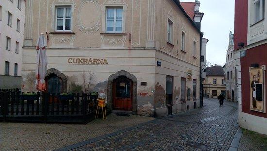 Tabor, Czech Republic: Vstup - pohled z náměstí