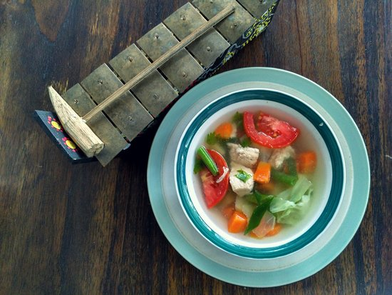 kafein bali chicken vegetable soup