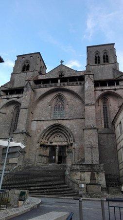La Chaise-Dieu, فرنسا: facciata