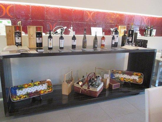 Montefalco, Italien: Sala degustazione