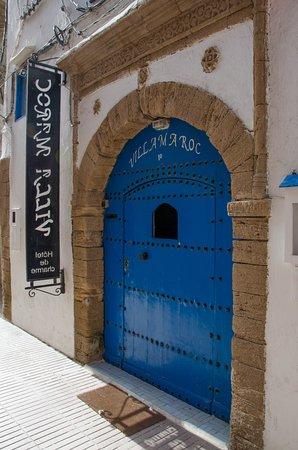 Villa Maroc: Entrance