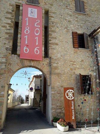 Borghi, Italy: Museo Renzi - Porta Est