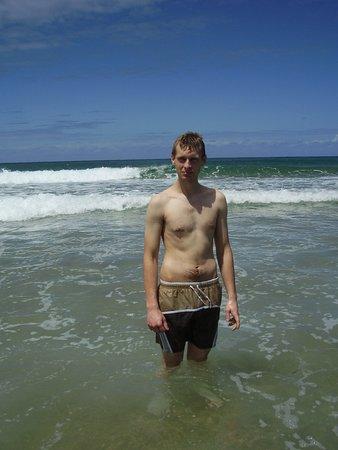 Stranden i Tofo.