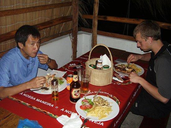 Middag på Tofo -Tofo.