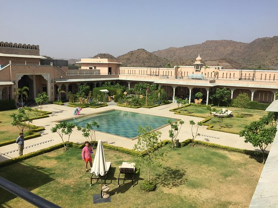 Bujera fort udaipur rajasthan hotel reviews photos rate comparison tripadvisor for Hotel in udaipur with swimming pool