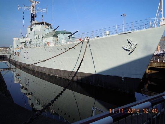 Chatham, UK: HMS Cavalier
