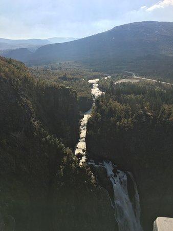 Eidfjord Municipality, Noruega: Zu viel Dunst am Nachmittag